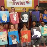 Another Happy Paint Your Pet class!