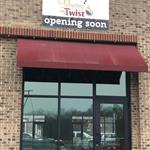 Our opening soon banner is up!