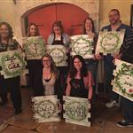 Paint night at Wycombe Winery