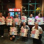 Painting Event at Bertuccis Langhorne- Painting with a Twist Richboro, PA
