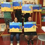 Family Class at Painting with a Twist Richboro, PA