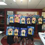 Kids Birthday Fun at Painting with a Twist Richboro, PA