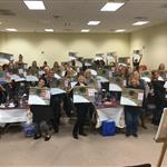 Fundraiser with Painting with a Twist Richboro, PA
