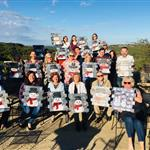 Painting with a Twist at Hawks Shadow Winery