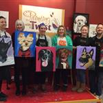 December 2017 Paint Your Pet!