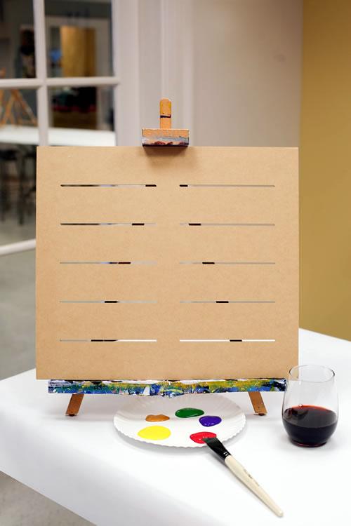 16x18 Slatted Wooden Board