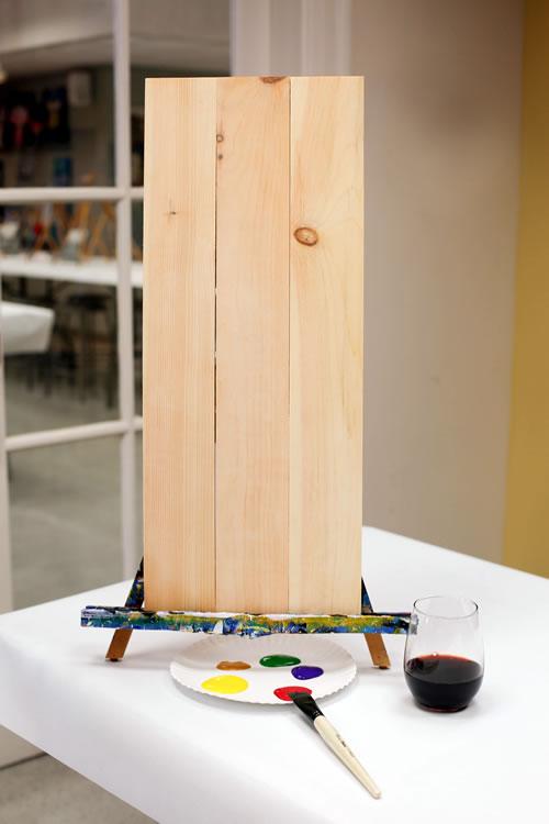 10.5x26 Wood Plank Board