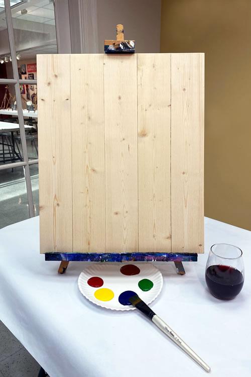 16x20 Wood Plank Board